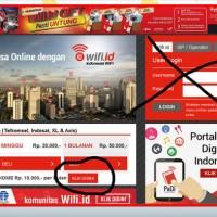 Wifi id durasi Permanen Fix Telkom