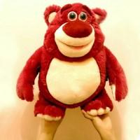 Boneka lotso toy story 40cm, bear lotso uk.40cm