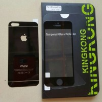 KINGKONG iPhone5 / iPhone 5S / iPhone 5 SE Tempered Glass Zeus Black