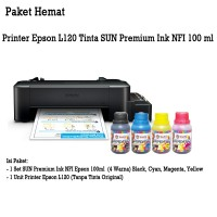 Printer Epson L120 + Infus SUN PREMIUM INK NFI