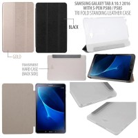 Samsung Galaxy Tab A 10.1 A6 2016 P585Y Leather Flip Cover Casing Case
