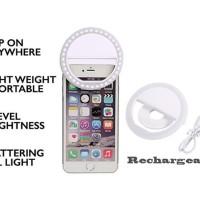 Jual Selfie Ring Light Clip For Camera Smartphone Murah