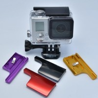 Clip Lock Buckle /Kunci Aluminium for Gopro 3/3+/4, B-pro5, kingma yi