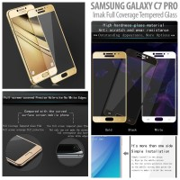Samsung Galaxy C7 Pro - IMAK Full Coverage Tempered Glass