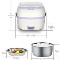 Jual Takeida Electric Elektrik Lunch Box - Mini Rice Cooker - mini magic co Murah