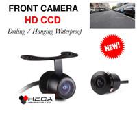 Front View Camera Dual Use HD CCD Parking Kamera Parkir Depan Mobil
