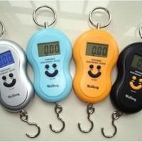 Jual Timbangan Gantung Smile 40kg -Timbangan Laundry Daput Digital Murah