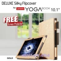 Flipcover Lenovo YOGA BOOK 10.1 - DELUXE Silky - FREE SP