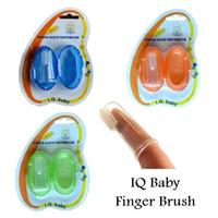 Jual IQ baby sikat gigi jari finger toothbrush lidah Murah