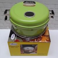 Bima Baking Pan / Pemanggang Kue Ukuran 28cm Hijau AL039WH