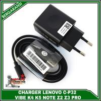 ORIGINAL 100% Charger LENOVO VIBE K4 K5 NOTE Z2 Z3 Pro 5V-2A (C-P32)