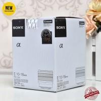 NEW - SONY E 10-18mm F4 OSS - Gudang Kamera Malang