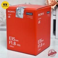 [New] SONY E 35mm f/1.8 OSS (Gudang Kamera Malang)
