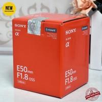 NEW - SONY E 50mm F1.8 OSS - Gudang Kamera Malang
