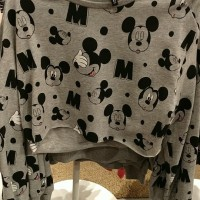 Lengan Panjang Outerwear Sweater Mickey Mouse H&M