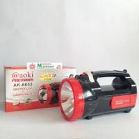Lampu Senter + Lampu Meja (2 in 1) aoki Premium AK-6653 MURAH