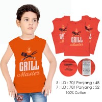 L5640 Gymbore Future Grill Kids Branded Tee KODE V5640