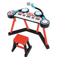 ELC Toys Key-Boom-Board/ Mainan Anak ELC Keyboard MIC dan Drum DJ OR