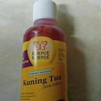 Harga Pewarna Kuning Tua Koepoe Koepoe 30ml Untuk Makanan dan Minuman   WIKIPRICE INDONESIA