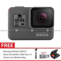 GoPro Hero6 / GoPro Hero 6 Black Combo Deluxe 16GB MURAH