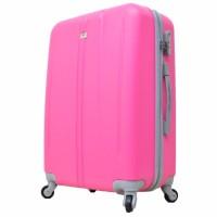 Koper Polo Team Tas Koper Hardcase Size 24 inch 003 - Merah Muda