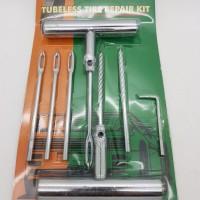 TAMBAL TUBLES / Alat tambal ban tubeles / Ban tubeles Gagang Stenlis