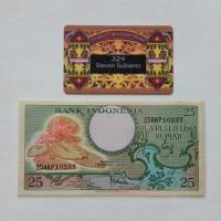 harga Uang Kuno Indonesia 25 Rupiah Seri Bunga Th 1959 Tokopedia.com