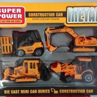 MAINAN DIE CAST CONSTRUCTION CAR METAL SUPER POWER F4
