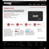 ENERGIZER XPAL Power Bank XP1000 | Portable Battery Charger untuk Ga