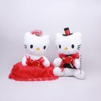 Jual Boneka Hello Kitty Pengantin, Wedding Doll Murah