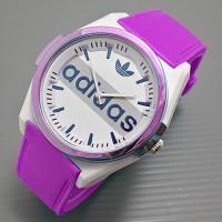 jam tangan wanita / cewek / Adidas jtr 070 ungu Diskon