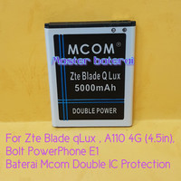 Baterai Zte 4G A110 Zte Blade Q lux Qlux Bolt PowerPhone E1 Double IC