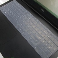 15 inch laptop keyboard cover Protector for Dell 15 inch transparant