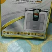 Harga timbangan badan body fat monitor omron hbf | Pembandingharga.com