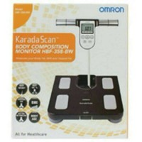 Harga timbangan badan timbangan badan body fat monitor omron hbf 358 | Pembandingharga.com