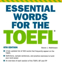 Essential Words for the TOEFL-Barron's
