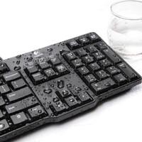 Logitech Keyboard kyboard K100 komputer kecil nyaman murah berkualitas