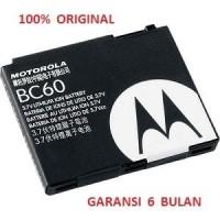 PROMO 100 ORIGINAL MOTOROLA Battery BC60 L2 L7 SLVR L7C V3X Z3 RIZR I