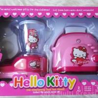 Mainan Anak Blender dan Panggang Roti Hello Kitty