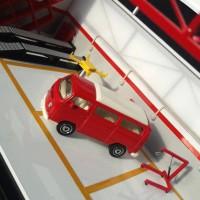 MATCHBOX LOOSE - VW VOLKSWAGEN T2 BUS MERAH