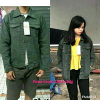Jaket Jeans levis Hijau army / jaket levi original