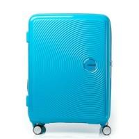 Koper American Tourister Curio Spinner 80/30 Exp TSA Turquoise