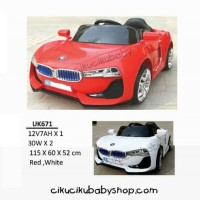 mainan anak / Mobil accu / Unikid UK671 Mobil BMW Car Isport