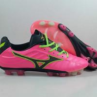 Sepatu Bola Mizuno Rebula V1 Pink Glow MD