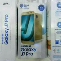 SAMSUNG GALAXY J7 PRO GRS RESMI SEIN Black Gold Dan Silver