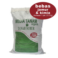 tanah untuk tanaman MEDIA TANAM -siap pakai (gojek only)