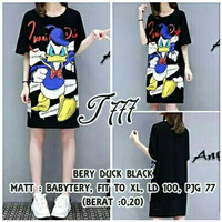 CGD T BERY DUCK (NAVY,WHITE,BLACK) DRESS