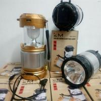 LAMPU LENTERA LAMPU EMERGENCY LAMPU SOLAR LAMPU SENTER+POWERBANK