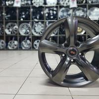 Import Velg Mobil Xmus Hyper black 16 x 7 5h1143 et 38