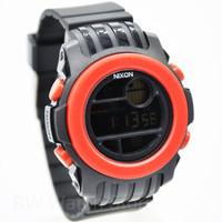 Jam Tangan pria/cowok merk Nixon digital tali rubber/karet 5 Warna